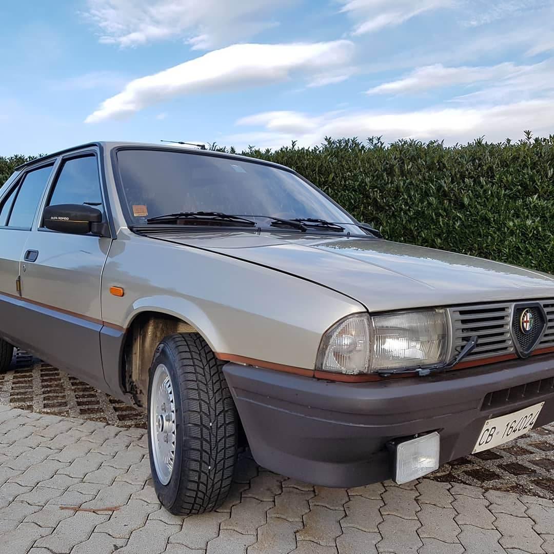 foto Alfa 33 1.5 quadrifoglio oro 1984 - 1