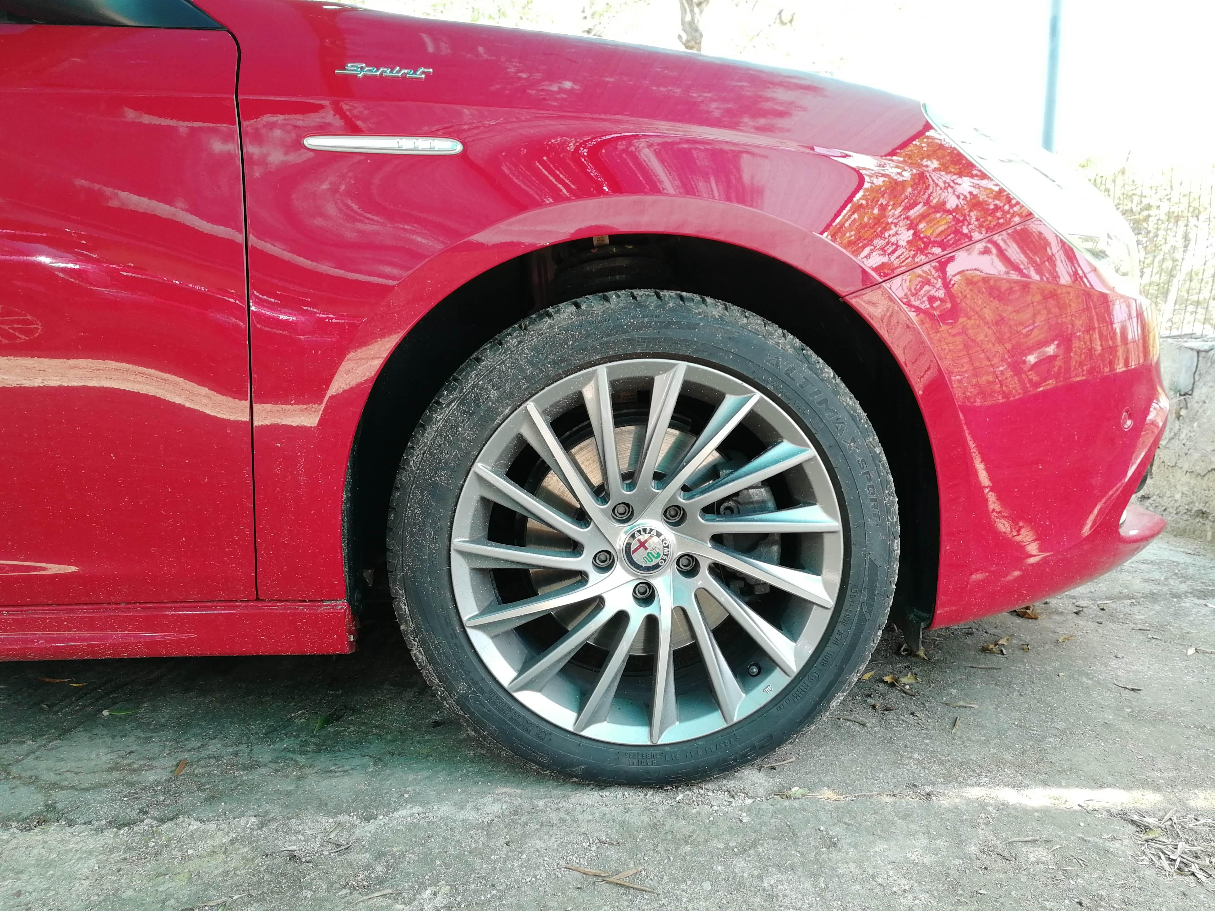 foto Alfa Giulietta - Cerchi turbina replica - 3