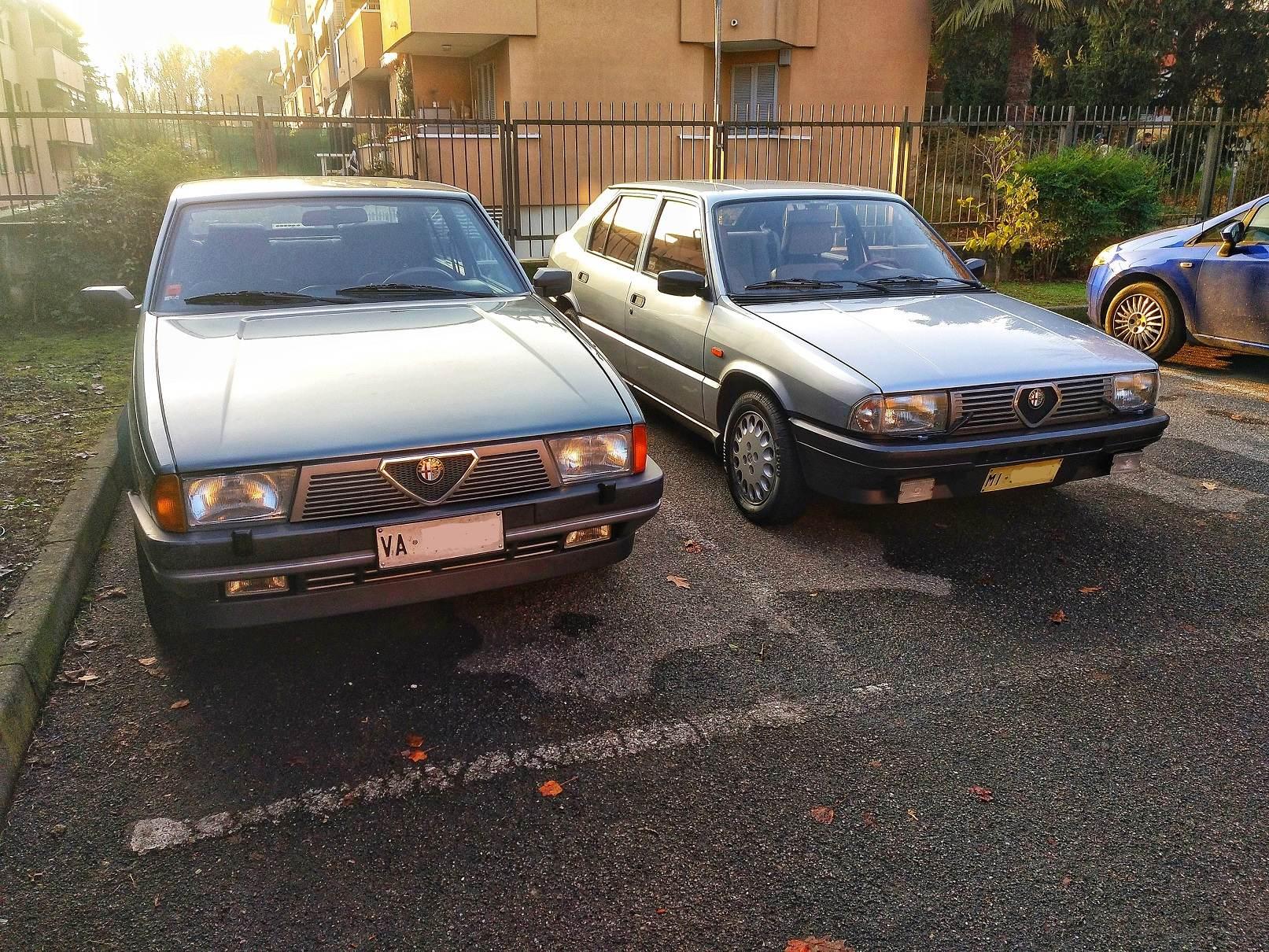 foto Alfa 33 Quadrifoglio Oro 95cv 1985 - 1