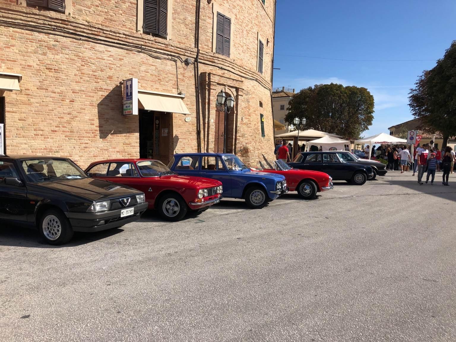 foto 5° raduno Alfa Romeo nella Vallesina 7/8 settembre 2019 - 3