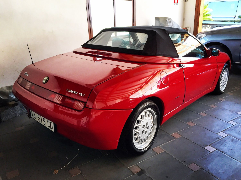 foto Alfa Romeo Spider 2.0 TS  MY 1995 - 3