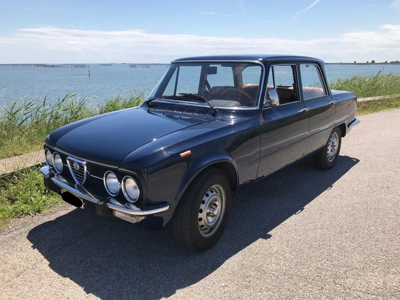 foto Alfa Romeo Nuova Super 1.3 1975 blu olandese - 1