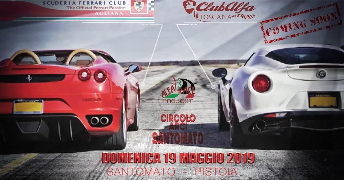 foto Raduno Alfa Romeo & Ferrari a Pistoia - 1