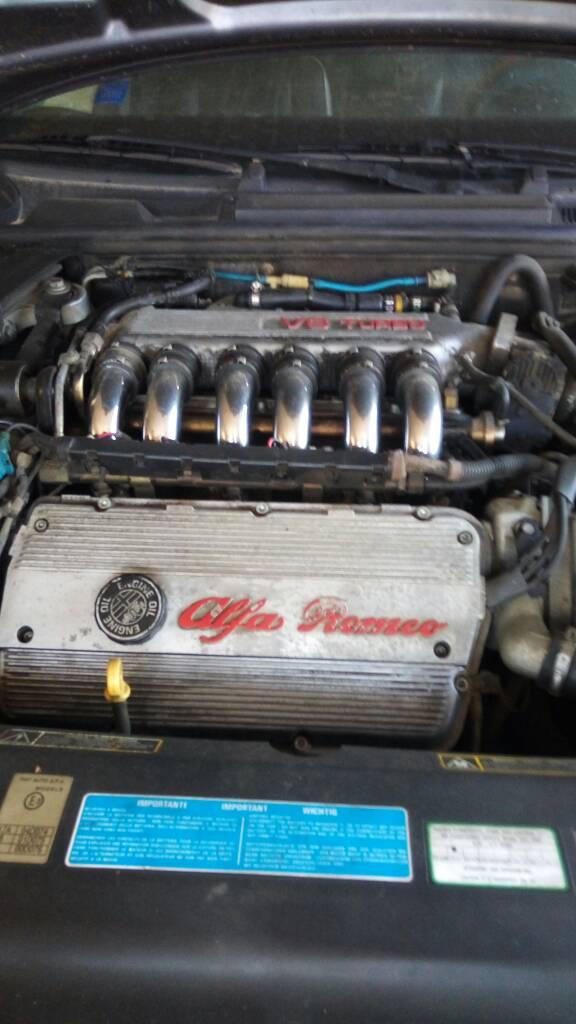 foto Alfa Romeo 166 - 2.0 V6 Turbo - Grigio Nettuno - Marzo 2000 - 1