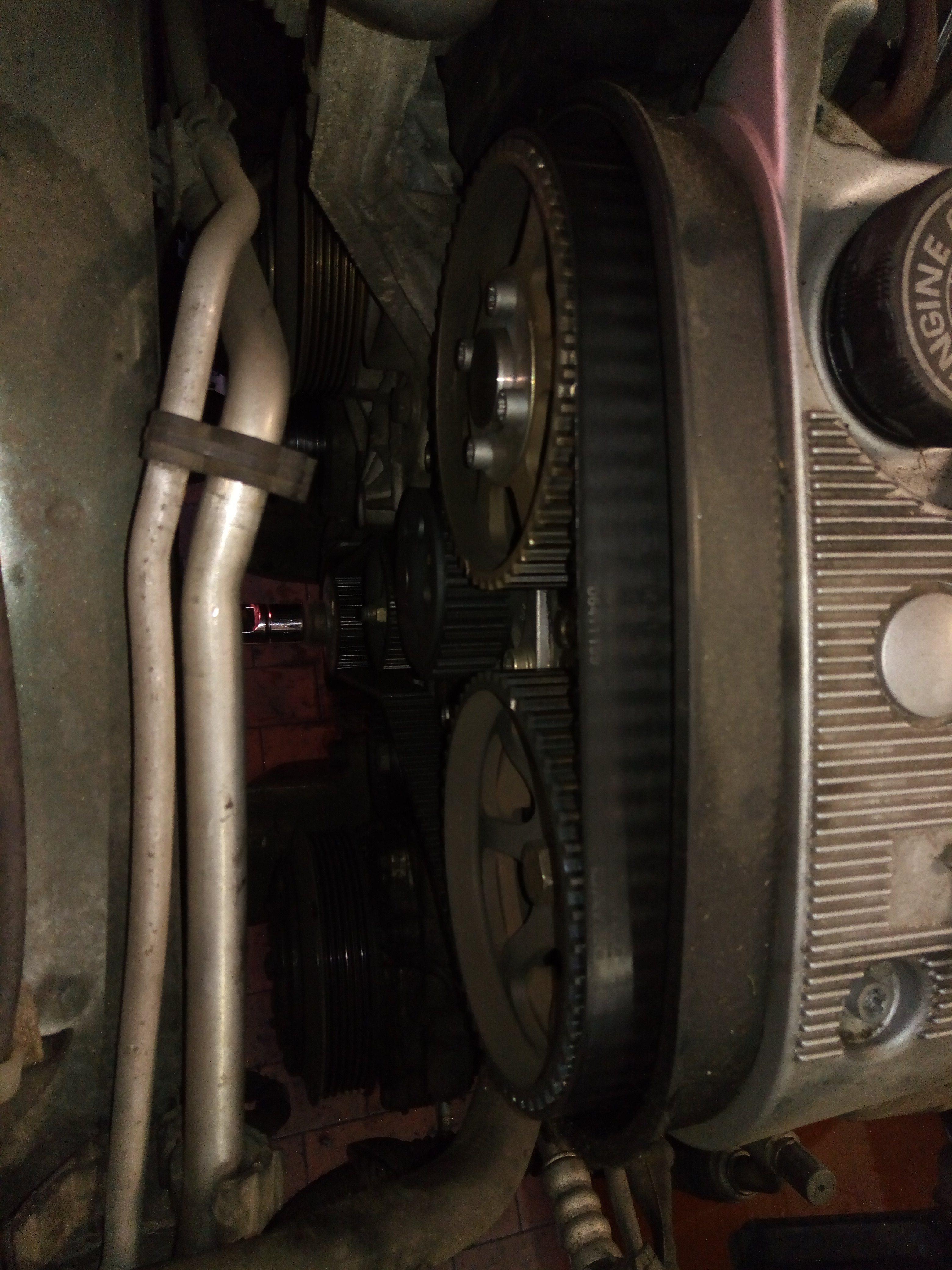 foto GUIDA alla manutenzione Distribuzione Alfa 147 1.6 105cv - 1