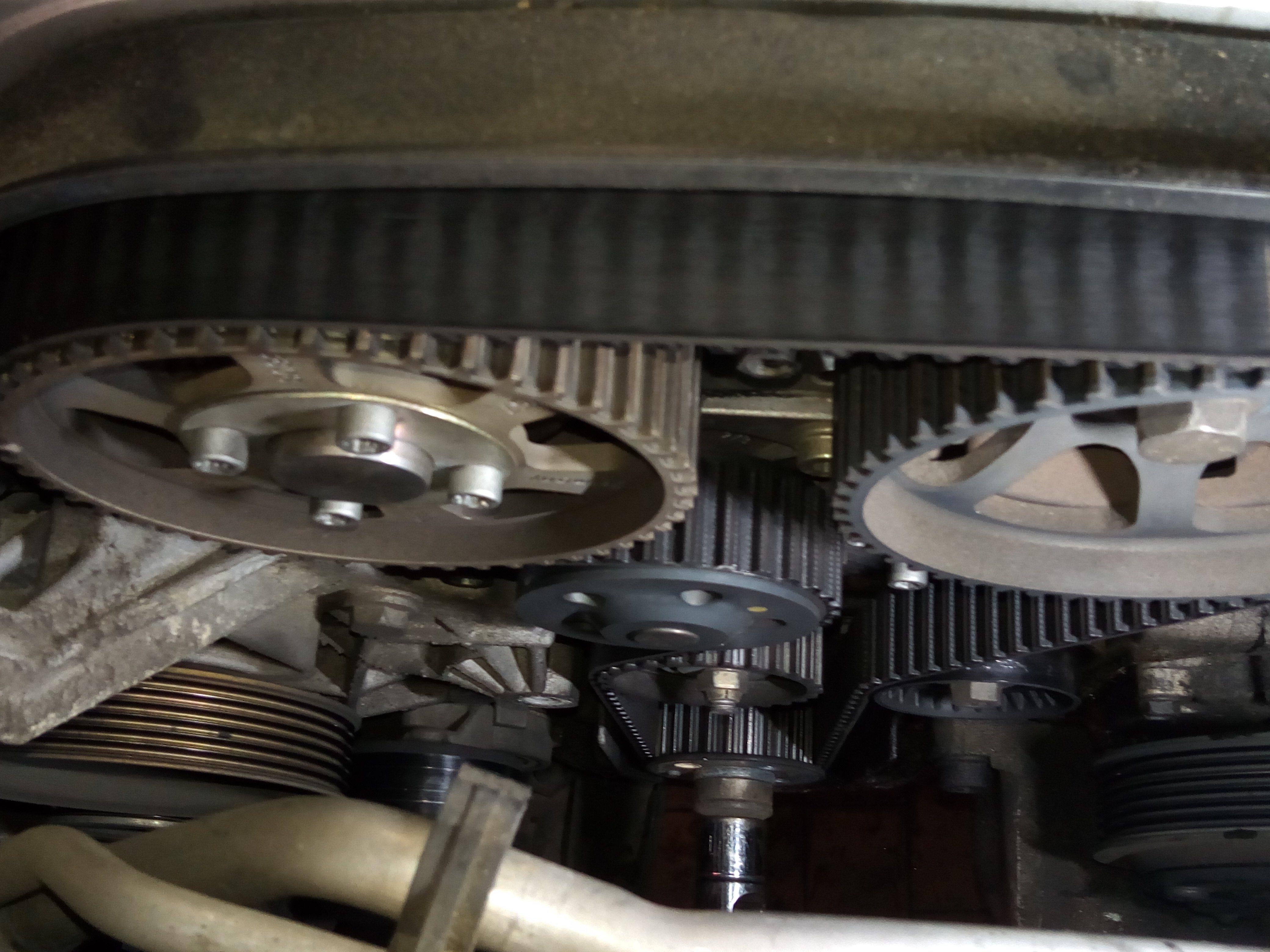 foto GUIDA alla manutenzione Distribuzione Alfa 147 1.6 105cv - 3