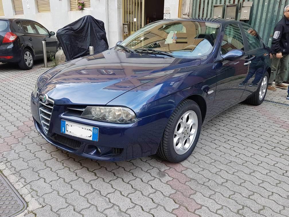 foto Alfa Romeo 156 - 1.6 TS 120cv - Blu Vela - 2003 - 2