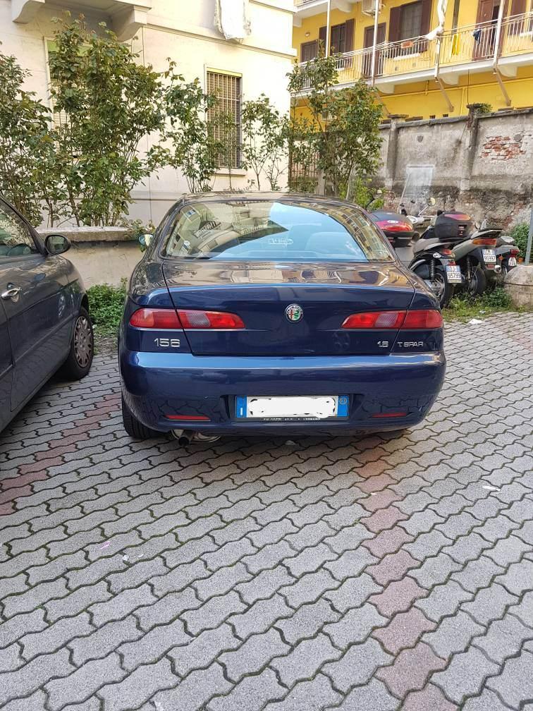 foto Alfa Romeo 156 - 1.6 TS 120cv - Blu Vela - 2003 - 7