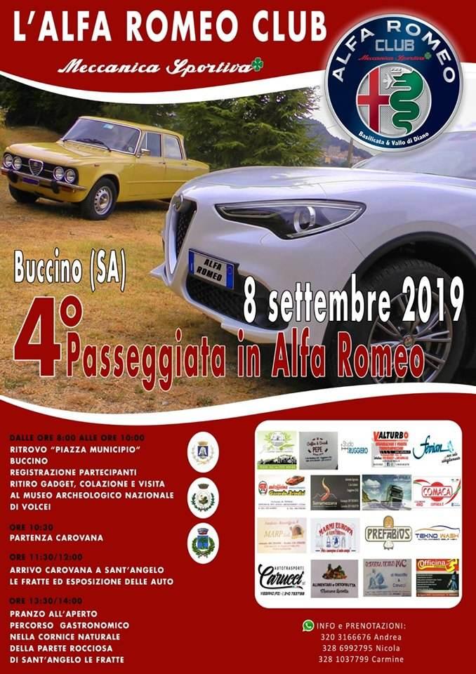 foto Club Alfa - Sezione Raduni e Incontri Basilicata/Potenza - 2