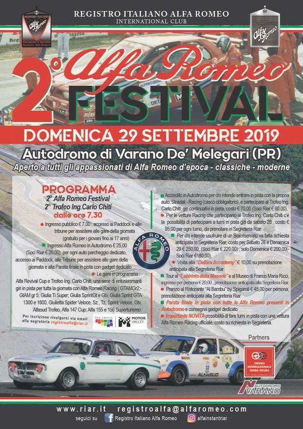 foto 2° Raduno Alfa Romeo Autodromo Varano de Melegari - 2