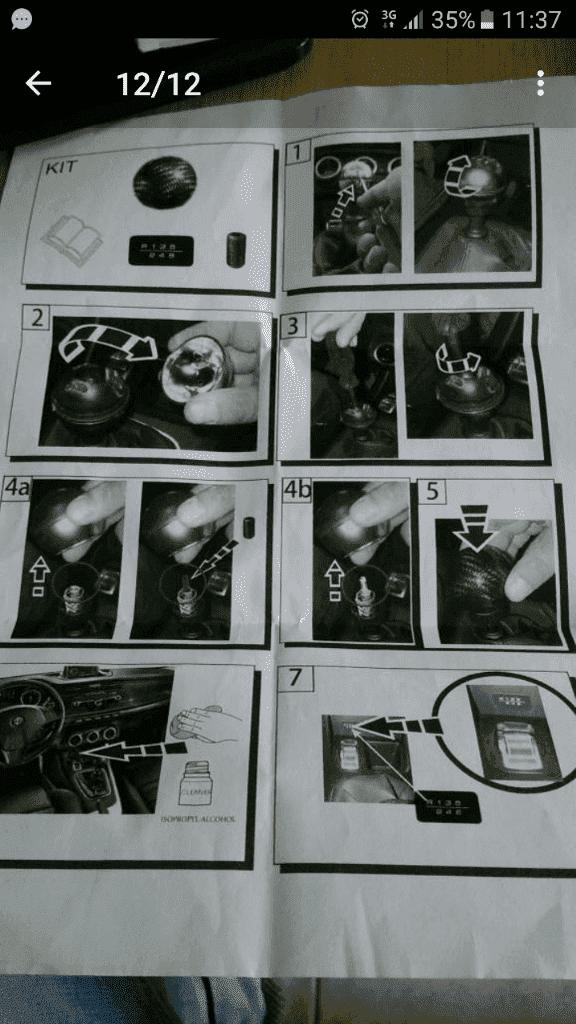 foto Problema smontaggio pomello cambio Giulietta my16 - 1