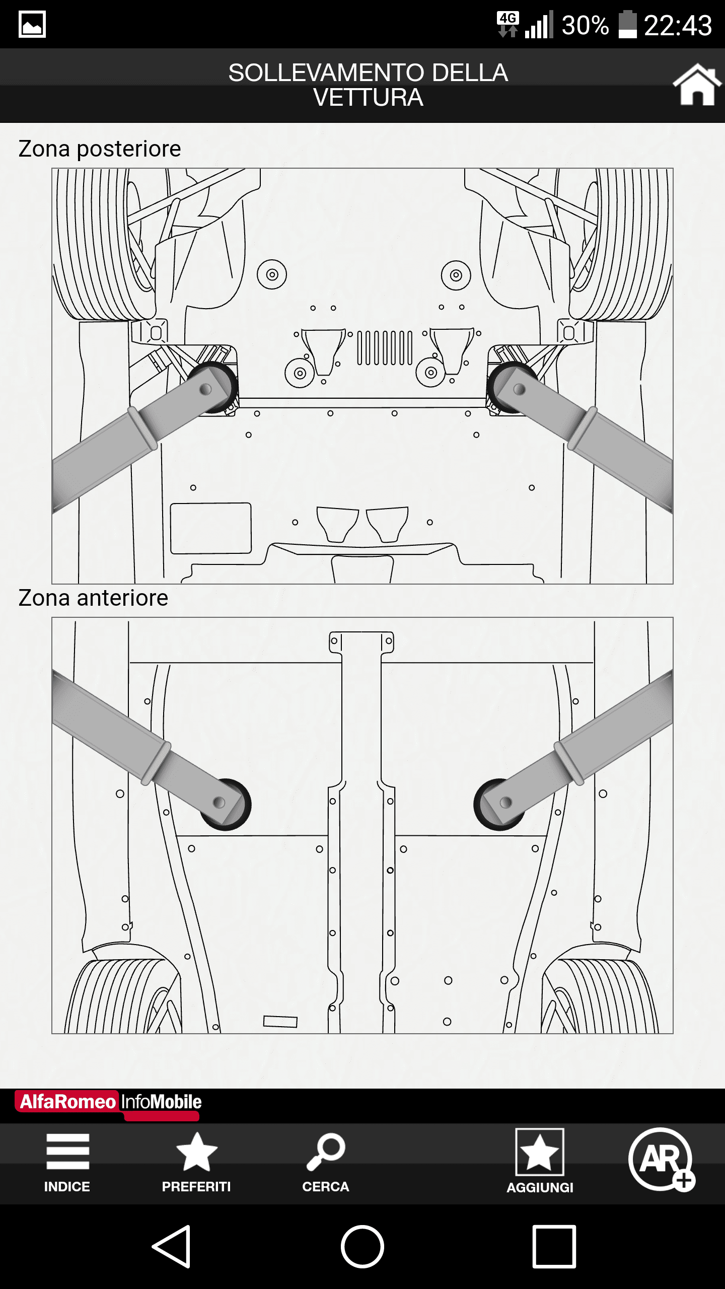 foto crepa su portellone posteriore - 3