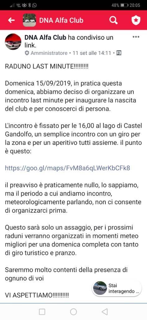 foto Quanti alfisti del Lazio attivi???? - 1