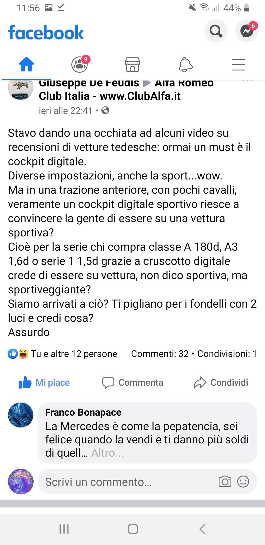 foto Rumori Alfa giulietta 1.6 - 1