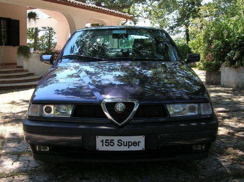 foto Alfa Romeo 155 super - 2.0 twin spark 16v - Blu Armonico - 1996 - Roma - 5