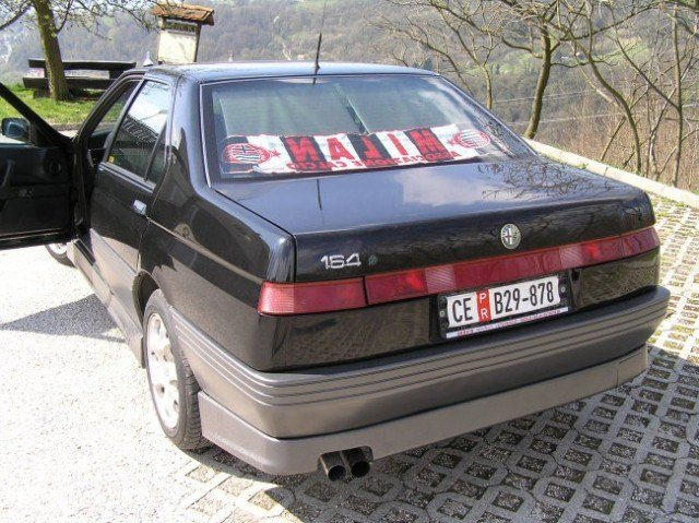 foto Alfa 164 - nera - 1994 - 9
