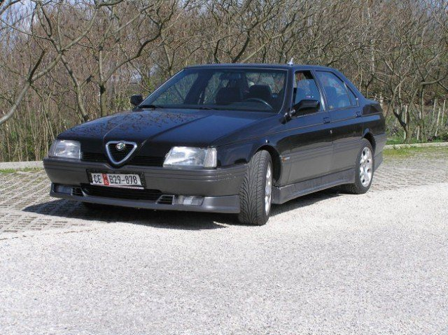foto Alfa 164 - nera - 1994 - 1