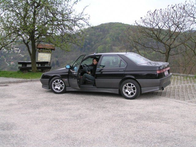 foto Alfa 164 - nera - 1994 - 3