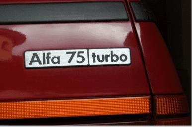 foto Dubbio su scritta 75 turbo - 2