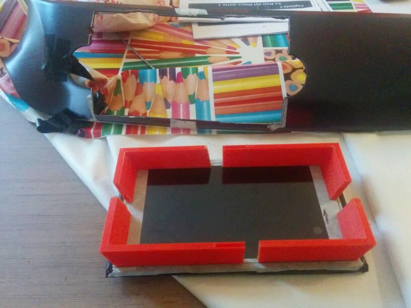 foto Giulietta - Modifica del vano Radionavigatore per installare Tablet/CarPC - 2