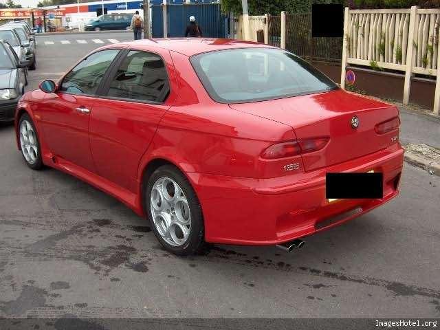 foto Alfa 156 - 3.2 V6 GTA - Rosso 130 - 2005 - Francia - 2