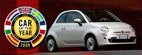 foto Fiat 500 auto dell'anno 2008! - 1