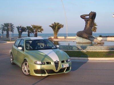 foto Alfa 147 - 1.9 JTD  - Distinctive  - Colore a Campione  - 2001  - Alba A. - 3