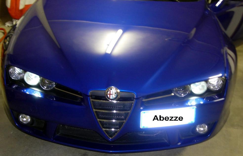 foto Alfa Brera - Sostituzione luci posizione anteriori con LED - {attachcounter}