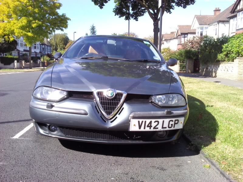 foto Alfa Romeo 156 - 2.0 TS- Grigio Africa- Prima Serie SP3- 2000- UK - {attachcounter}