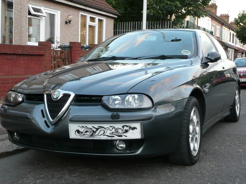foto Alfa Romeo 156 - 2.0 TS- Grigio Africa- Prima Serie SP3- 2000- UK - {attachcounter}