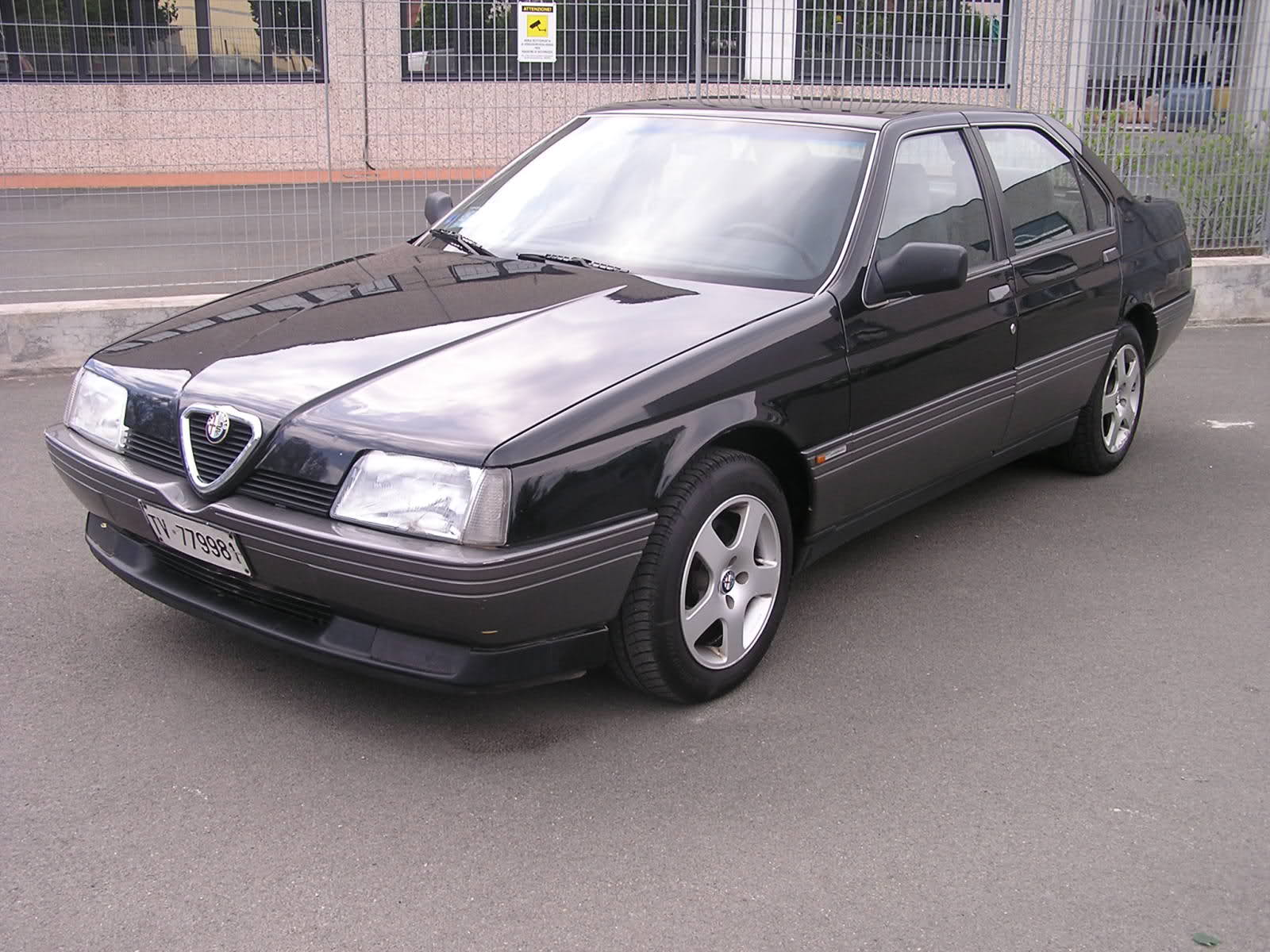 foto Alfa 164 - 2.0 Twin Spark - Lusso - Nero lucido - 1989 - SP - ASI - {attachcounter}