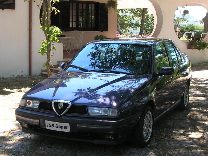 foto Alfa Romeo 155 super - 2.0 twin spark 16v - Blu Armonico - 1996 - Roma - {attachcounter}