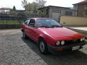 foto Alfa Romeo - Alfetta GTV 2.0 - Rosso Alfa - 1981 - TO - {attachcounter}